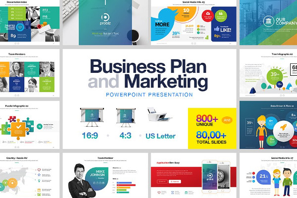 business plan marketing powerpoint