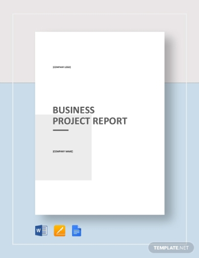 business project report