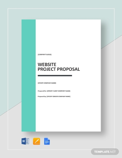 business website project proposal