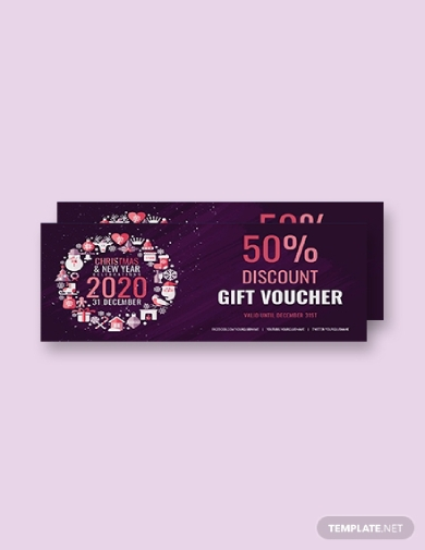 christmas discount gift voucher 1