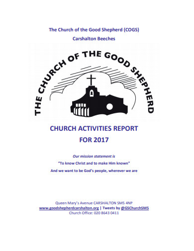 church activities report