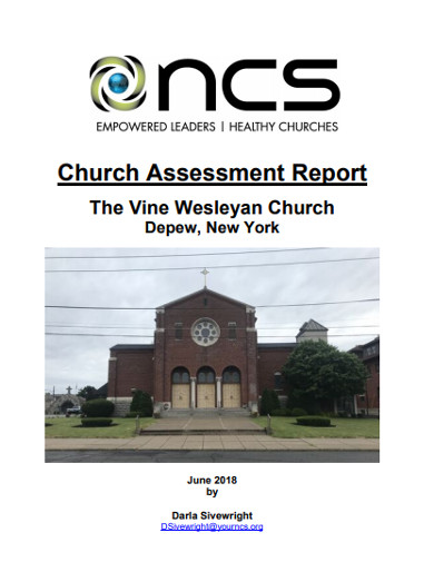 church assessment report