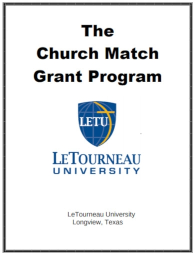 church match grant program