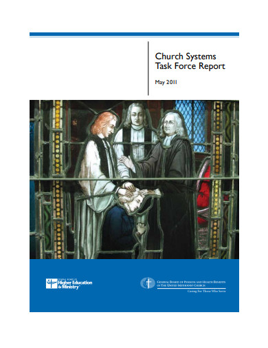 church systems task force report