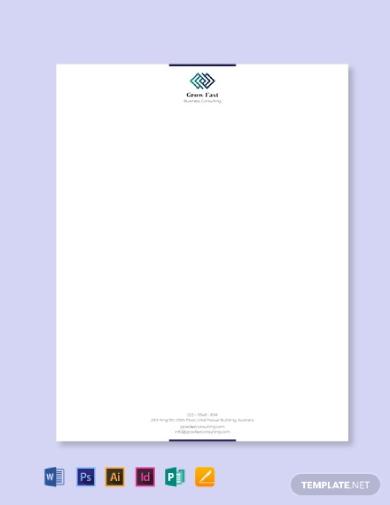 company business letterhead