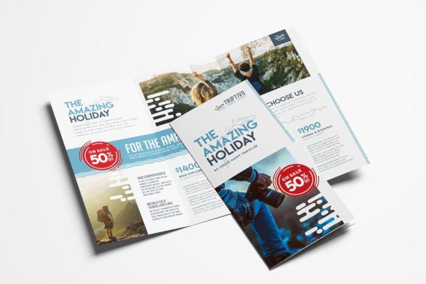 company travel brochure