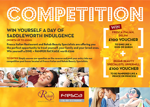 competition marketing leaflet