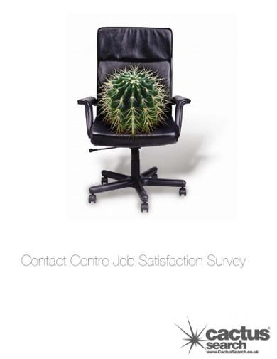 contact centre job satisfaction survey