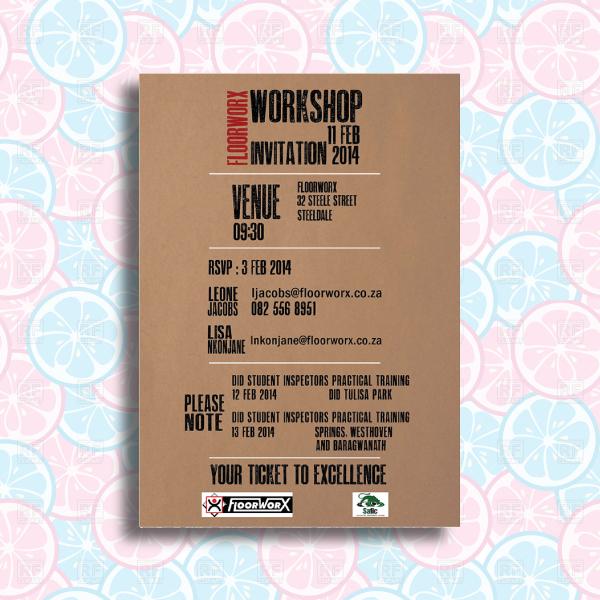 corporate workshop event invitation