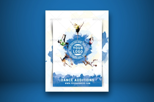 creative dance audition flyer