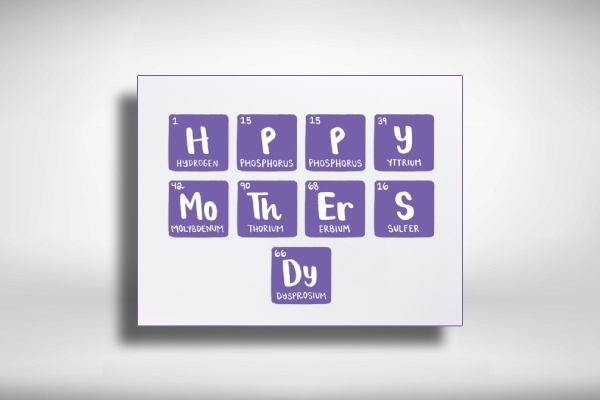 creative mothers day greeting card