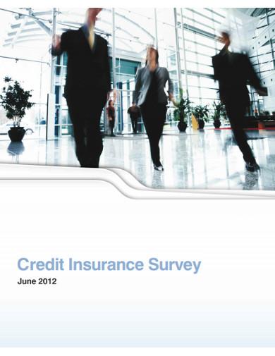 credit insurance survey