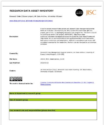 data asset in pdf