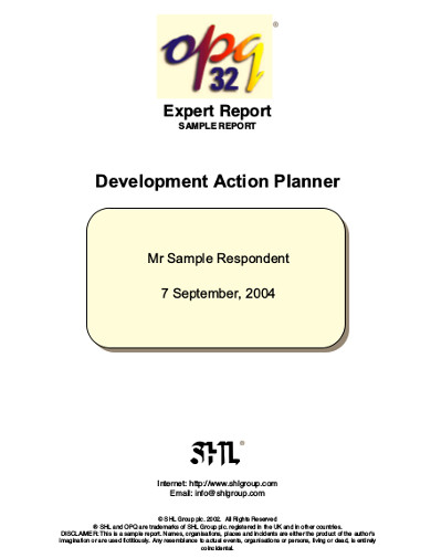 development action planner