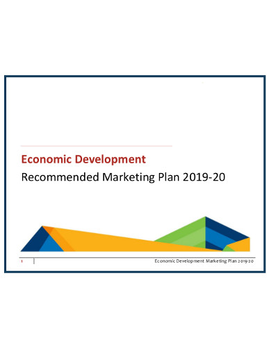 economic development marketing work plan