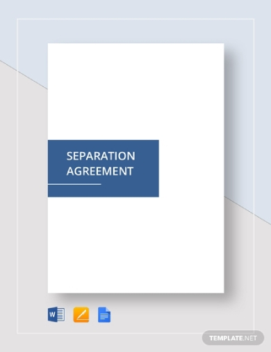 editable employment separation agreement