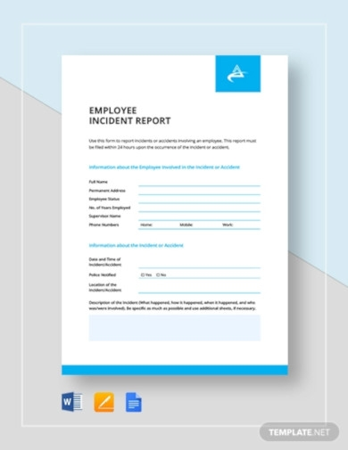 employee incident report template2