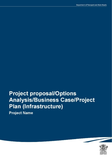 engineering project proposal template for infrastructures