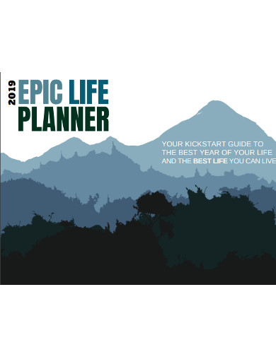 epic life planner