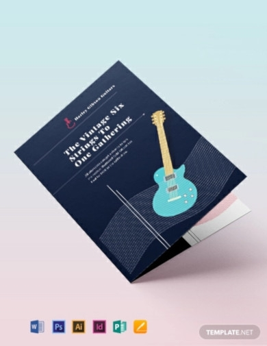 event bi fold brochure