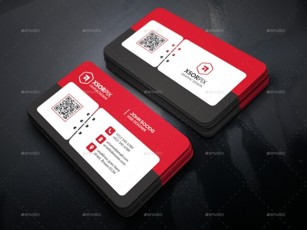 event business cards sample