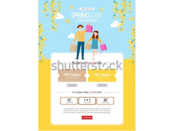 event coupon design