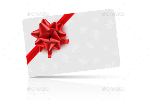 event coupon gift card celebration