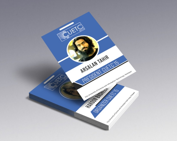 event id card design