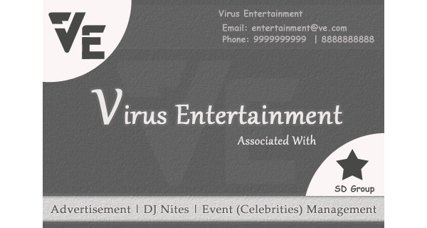 event manager business card
