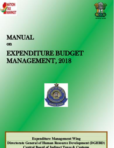 expenditure budget management