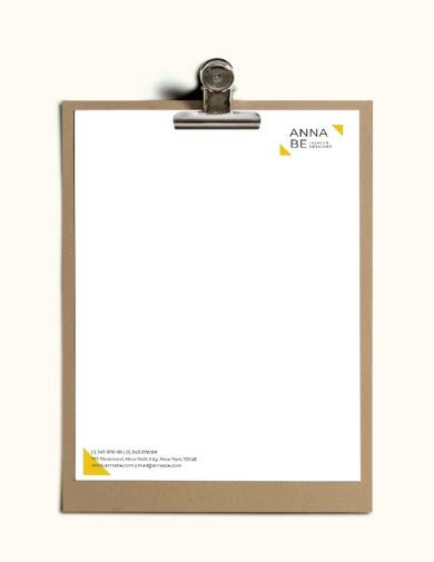 fashion designer letterhead