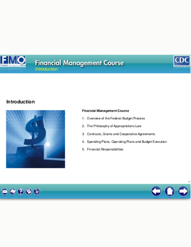 financial budget management course