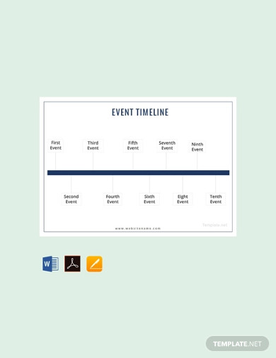 free event timeline template