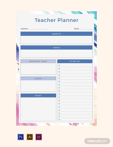 Teacher Schedule Template Free from images.examples.com