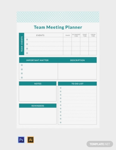 Free 11 Meeting Planner Examples Templates Download Now Examples