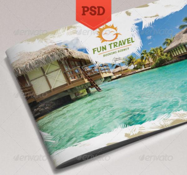 fun travel brochure