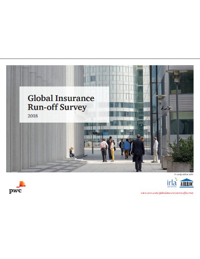 global insurance run off survey