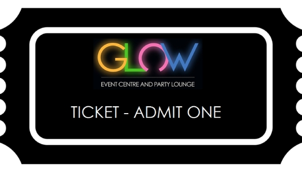 glow child dance party admission ticket