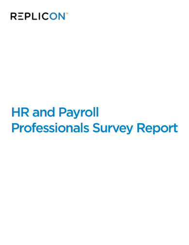 hr and payroll professionals survey report