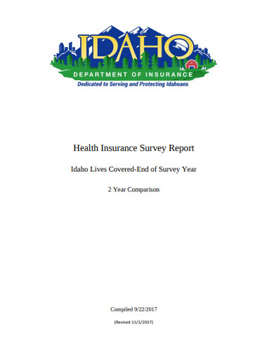 health insurance survey report