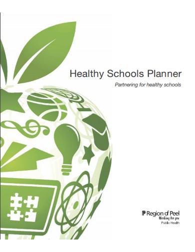 healthy schools planner