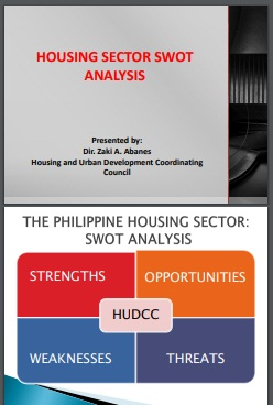 housing sector swot analysis