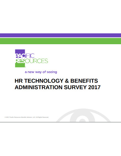 hr technology benfits administration survey