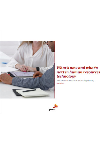 human resources technology survey