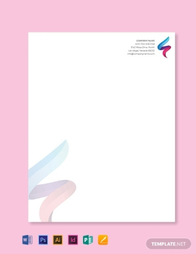 it company letterhead