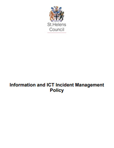 incident management policy example