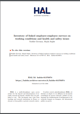 inventory of linked employer employee survey