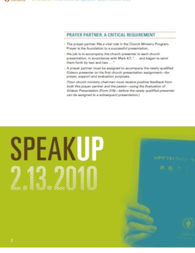 key component for church presentationr