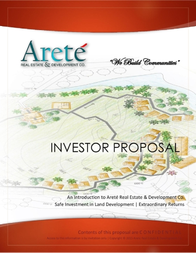 land development investor proposal