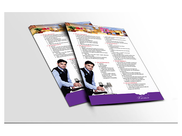 leaflet university of finace marketing